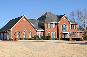 New Custom Built House Royalty Free Stock Photo - Image: 8077665