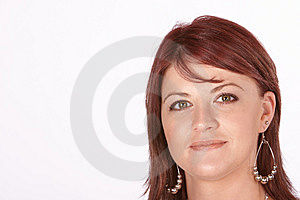 Red Head Portrait Stock Photos - Image: 8078023