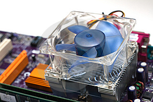 Computer CPU Cooler Royalty Free Stock Photo - Image: 8078955