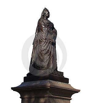 Statue Of Queen Victoria Royalty Free Stock Photo - Image: 8079815