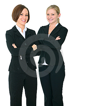 Two Successful Businesswoman Royalty Free Stock Images - Image: 8080289