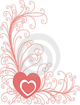 Heart Background Royalty Free Stock Photos - Image: 8082068