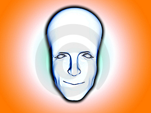 Smart Head Stock Image - Image: 8082841