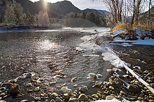 The River Stock Image - Image: 8083591