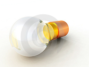 Lightbulb Royalty Free Stock Photo - Image: 8083755