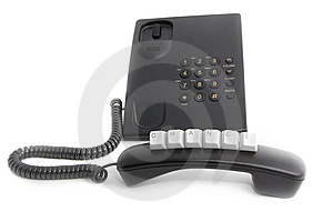 Call And Use Your Chance! Stock Photos - Image: 8084953