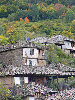 Village In The Mountain Stock Photo - Image: 8085320
