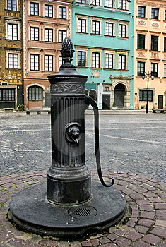 Old Water Pump Stock Photos - Image: 8087183