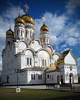 Spaso-preobrazhenskiy Cathedral. Tolyatti Royalty Free Stock Photography - Image: 8087927