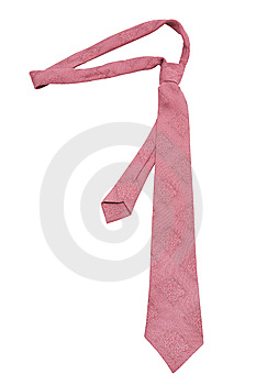 Pink Necktie Royalty Free Stock Photo - Image: 8088525