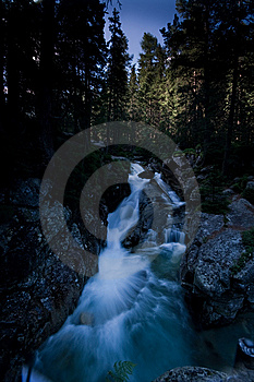 Water Fall Stock Photography - Image: 8089002