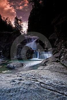 Water Fall II Stock Image - Image: 8089011