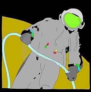 Astronaut Royalty Free Stock Photo - Image: 8089465
