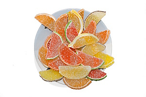 Fruit Jellies Stock Photos - Image: 8090663