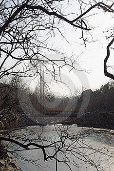 Vally Wiśnia Staw Zdjęcie Royalty Free - Obraz: 8091255