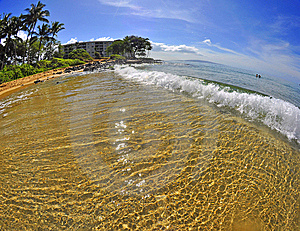 Maui Surf Royalty Free Stock Images - Image: 8091299