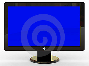 Plasma Tv Stock Photo - Image: 8092320