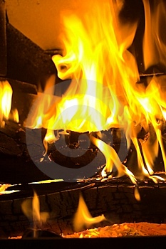 Fireplace Royalty Free Stock Image - Image: 8092816