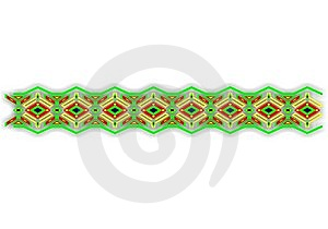 A Bashkir Ornament Royalty Free Stock Images - Image: 8093279