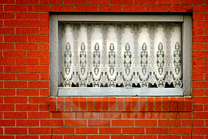 White Lace WIndow Royalty Free Stock Photos - Image: 8093368