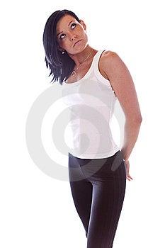 Sporty Girl Stock Photos - Image: 8094673