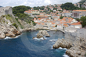 Dubrovnik Harbor Stock Photo - Image: 8095820