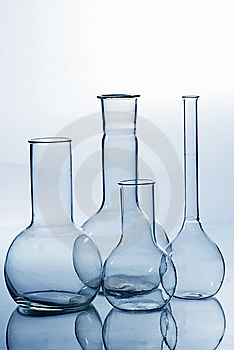 Glass Laboratory Equipment Royalty Free Stock Images - Image: 8097959