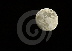 Full Moon At Night Stock Images - Image: 8098264