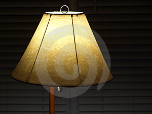 Lamp Shade With Blinds Royalty Free Stock Photography - Image: 8098437