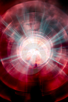 Plasma Lamp Royalty Free Stock Photo - Image: 8098785