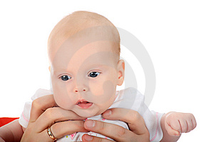 In Mothers Hands Royalty Free Stock Image - Image: 8098876