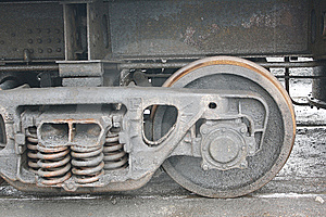 Railway And Coal Stock Photo - Image: 8099420