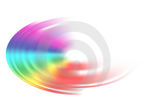 Rainbow Drop Royalty Free Stock Photo - Image: 8099545