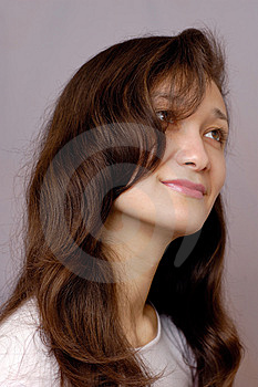 Romantic Girl Face Royalty Free Stock Photography - Image: 811157