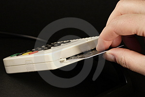 Card Reader 04 Royalty Free Stock Images - Image: 813889