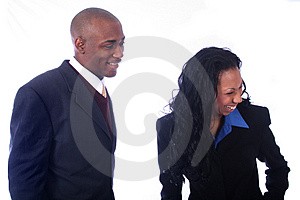 African American Business People Royalty Free Stock Photography