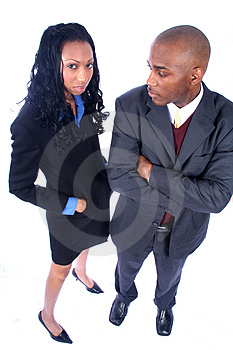 African American Business People Stock Photography