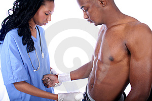 Nurse And Patient Stock Photos - Image: 815683