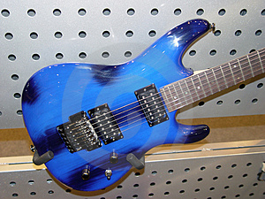 Electric Guitar Stock Photo - Image: 817320