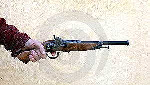 Ancient Pistol Stock Photos - Image: 8100153