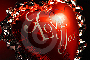 I Love You Balloon Royalty Free Stock Images - Image: 8101389
