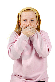 Speak No Evil Stock Image - Image: 8102711