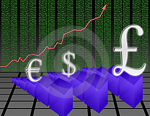 Rise In The Pound (03) Royalty Free Stock Photos - Image: 8108078