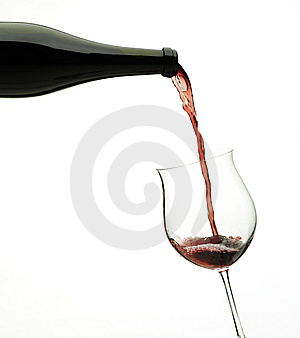 Wine Free Stock Photography