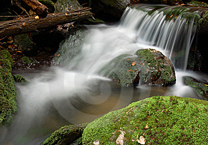 Waterfall In Bohemia Stock Photo - Image: 8108490