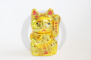 The Fortune Cat Royalty Free Stock Photography - Image: 8108807