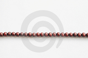 Wood Praying Beads Royalty Free Stock Image - Image: 8108816