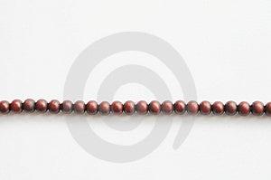 Perles De Prière En Bois Image libre de droits - Image: 8108816