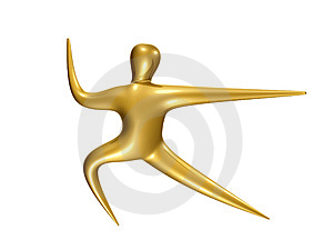 Sport Icon Figure Royalty Free Stock Images - Image: 8109749
