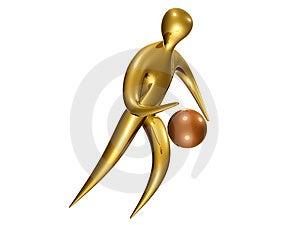 Baket Ball Icon Royalty Free Stock Photography - Image: 8109757